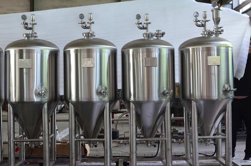30Gal 1BBL 100L stainless steel jacketed fermenter...