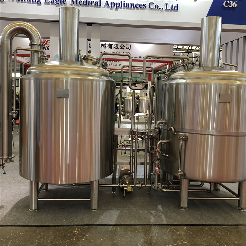 500L Mini Beer Brewery equipment for sale in Europ WEMAC G030