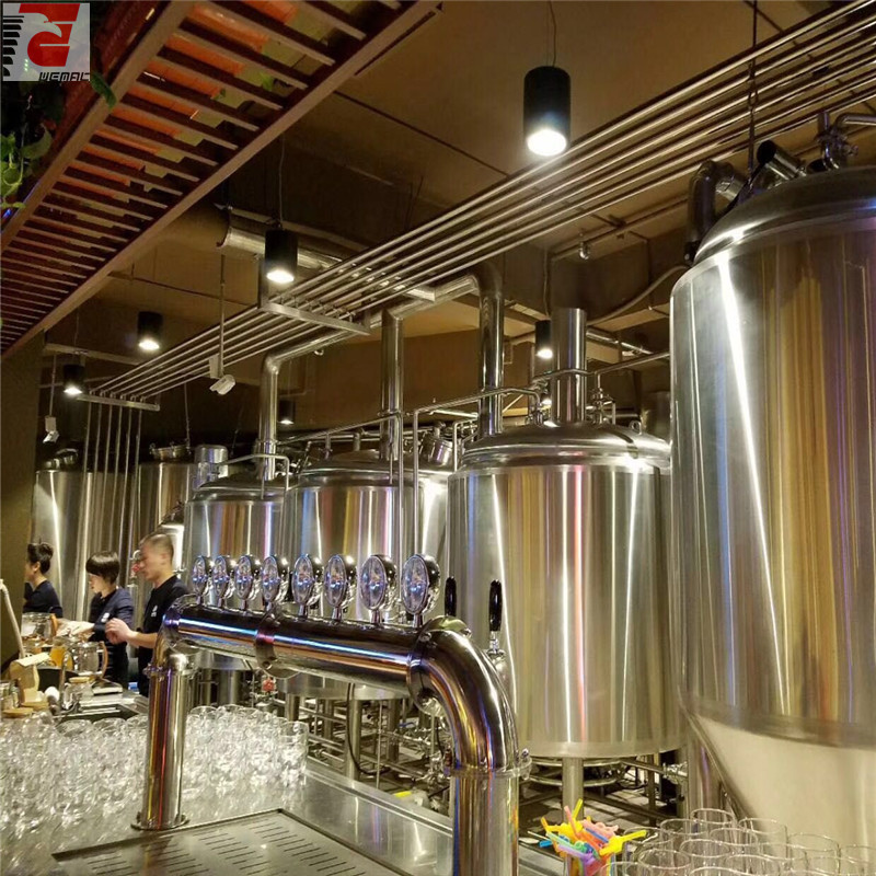 Turnkey beer brewing system and turnkey brewery equipment for sale