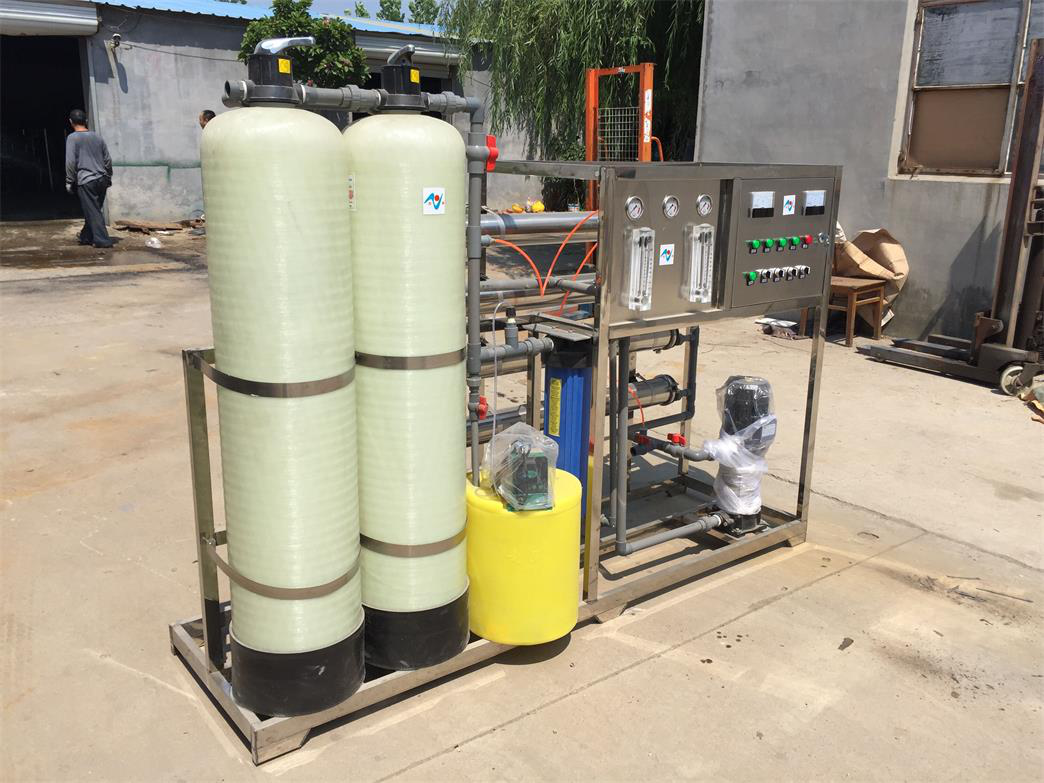 Hot sale automatic multiple water softening unit equipment from Chinese manufacturer widely used in industrial water production ZZ