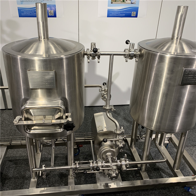 50LPilot Brewery equipment WEMAC G032
