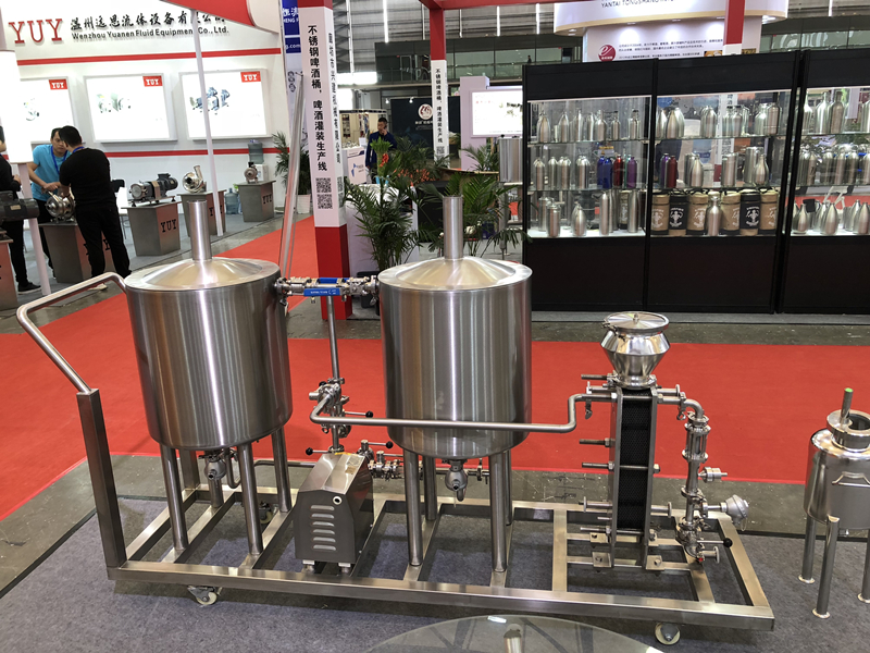 50L Small mini size craft beer brewing making machine home using brewery system Chinese manufacturer