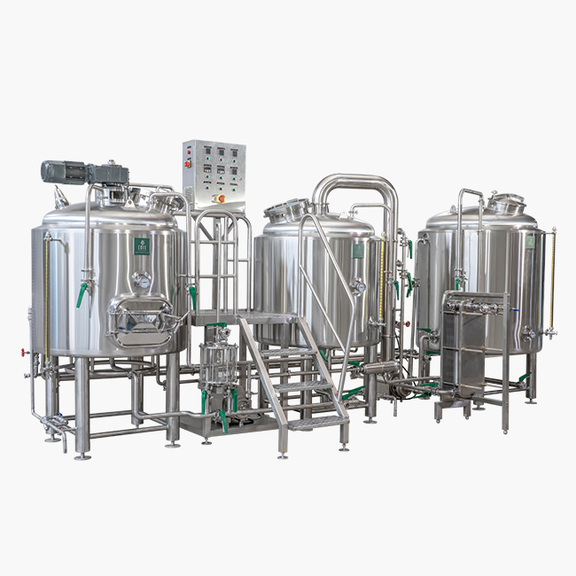 3BBL 5BBL turnkey beer microbrewery equipment manu...