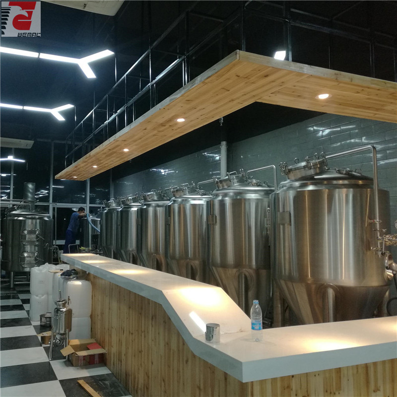 All kinds of beer brewing vats Chinese manufacturer