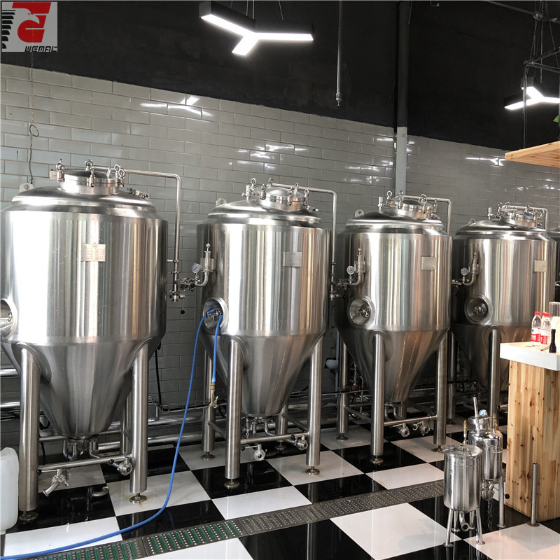 Craft beer brewing equipment manufacturer WEMAC Chinese supplier