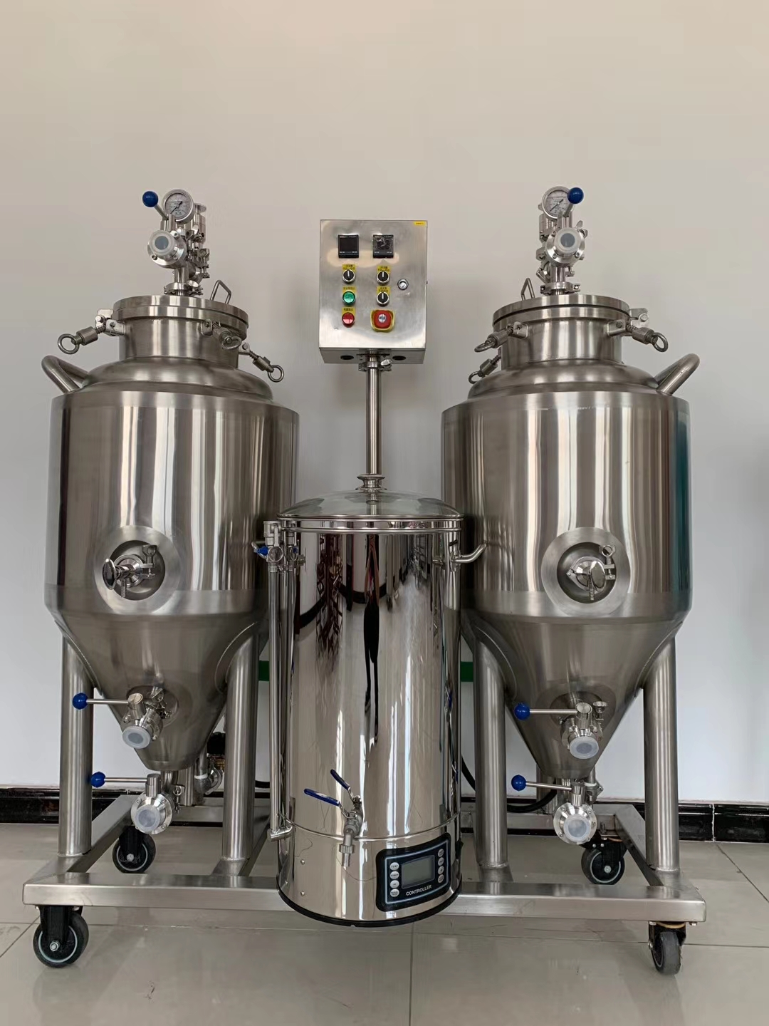 Peru professional home beer brewing equipment of SUS304 for beer enthusiasts from China manufacturer W1