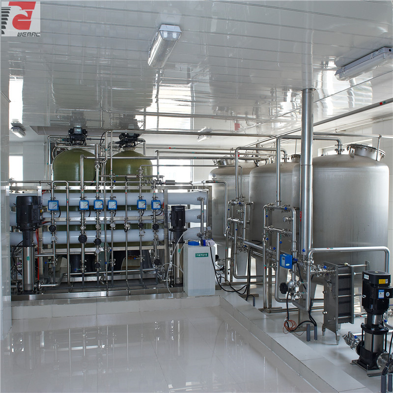 Purified water system in pharmaceutical industry for sale WEMAC H018