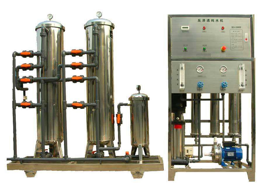 Romania efficient single reverse osmosis permeable filtration system of stainless steel from China factory 2020 W1