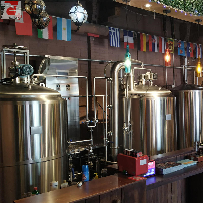 Small beer brewery equipment for sale commercial brewing equipment China supplier