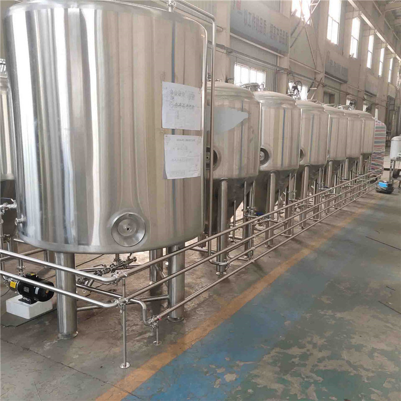 Korea 500L high polished rice rate brewhouse and mash system of SUS304 316 for sale from China