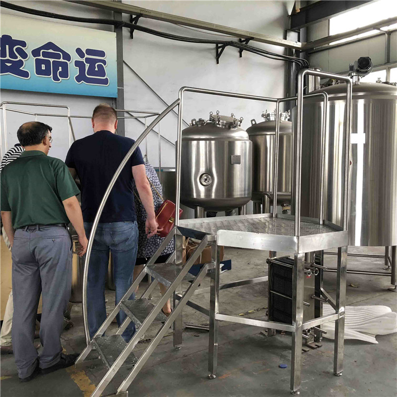 Best 1000L turnkey brewery equipment for sale china factory WEMAC G057