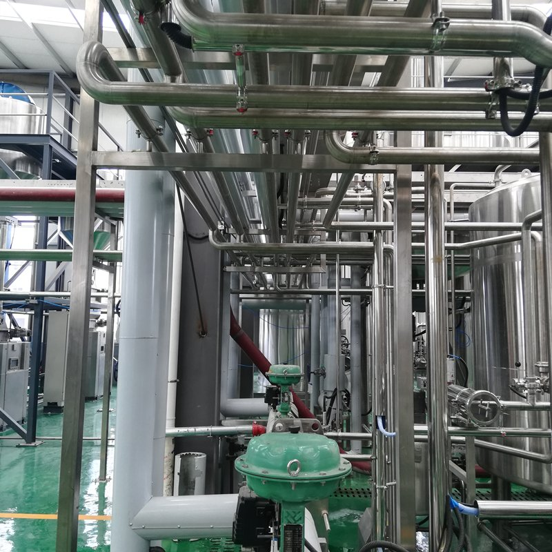 SUS304/316L Craft Beer brewery factory building connect pipeline system designed by WEMAC