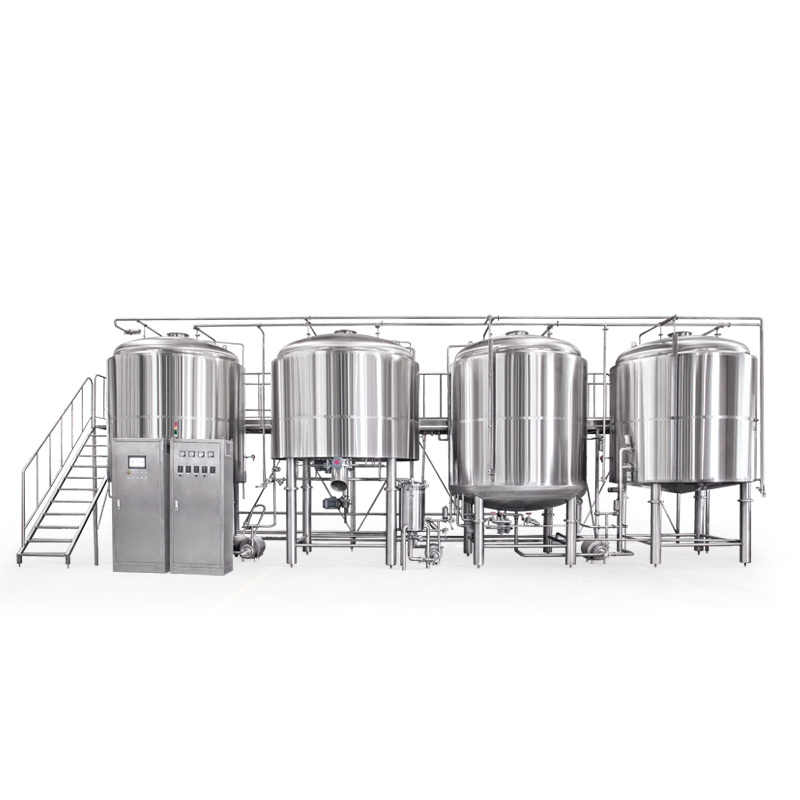 2500L 5000L Craft draft beer making Full Automatic Brewery Equipment Automatic welding ZXF