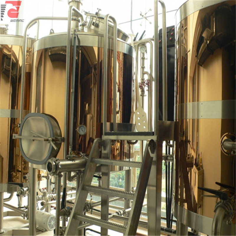Wood surface mini beer brewery equipment for sale