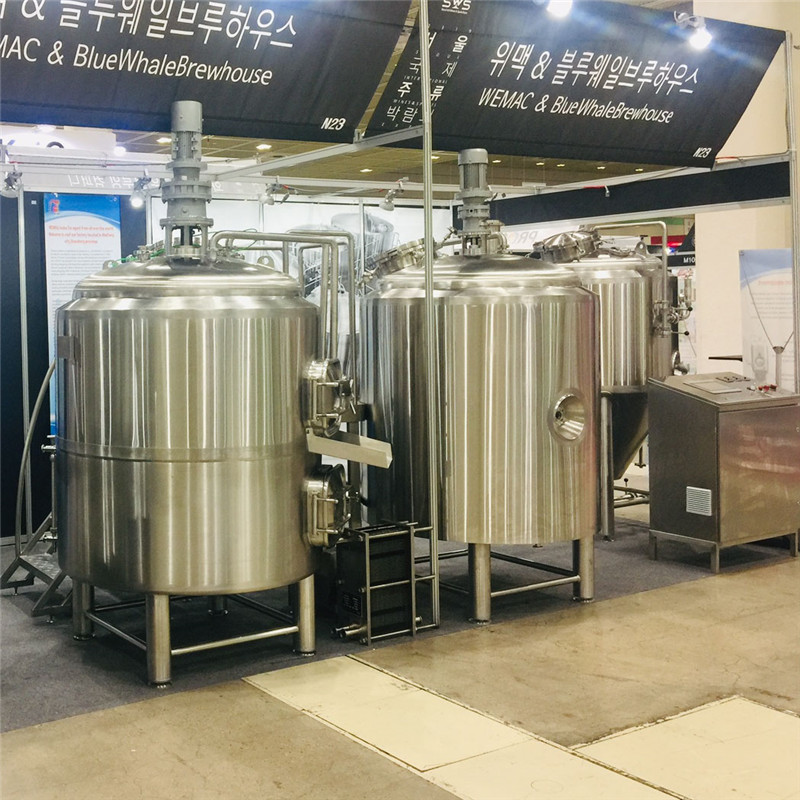 500L turnkey beer brewing system for sale WEMAC G037