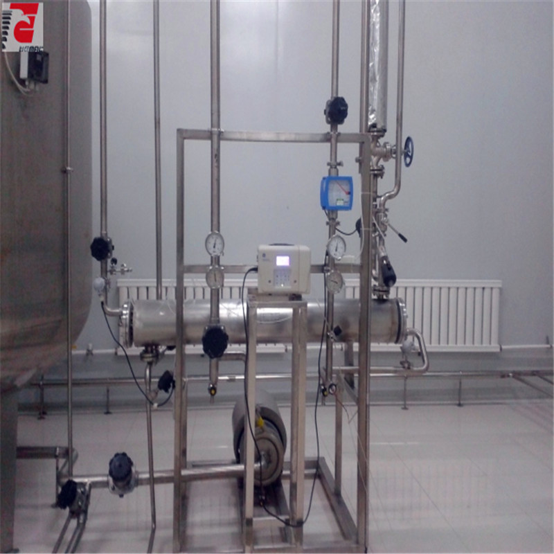 Pharmaceutical sanitary double tube and sheet heat exchanger WEMAC S005