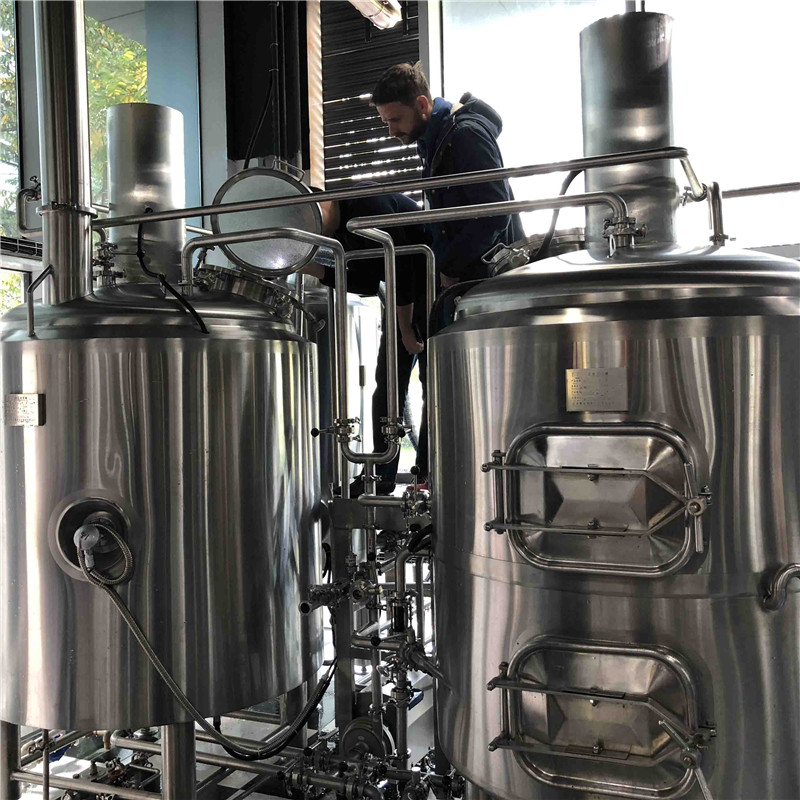 500L turnkey brewery equipment for sale china factory WEMAC G071